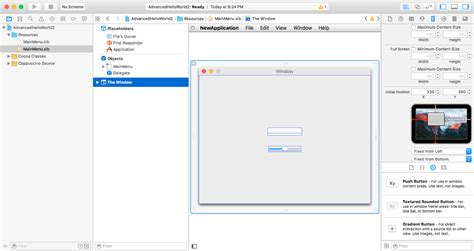 xcode tutorial interface builder cappuccino tutorial xcode interface builder