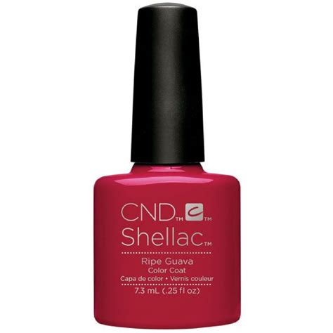 Uv Nail L by Cnd Shellac Ripe Guava Uv Color Coat L Gel Nails