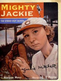 ruth the bravest books children s book review mighty jackie the strike out