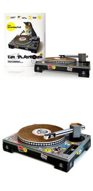 cat scratch dj deck dj scratch deck because every djs cat needs one