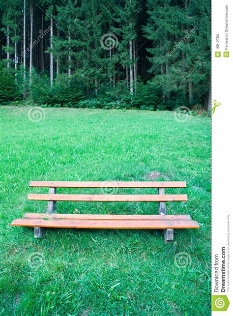 bench in nature bench in a nature park stock photo image 15912780