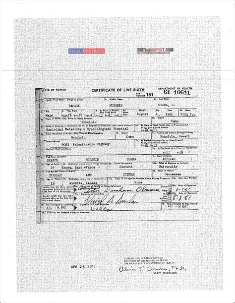revealed multiple obama birth certificates surface in