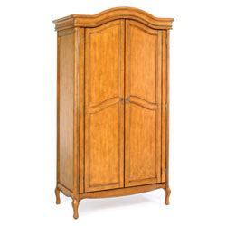 Computer Armoire Office Depot Office Depot Brand Chateau Provence Computer Armoire 76 38 H X 40 12 W X 20 12 D Oak By