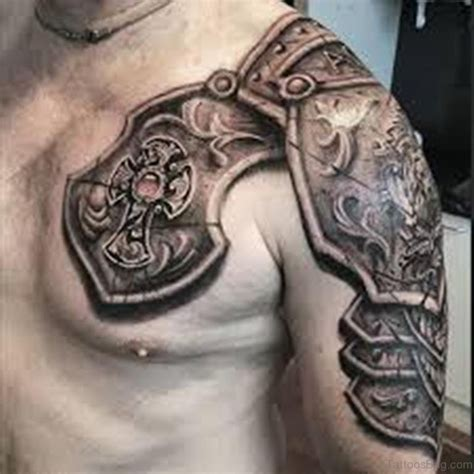body armour tattoos designs 55 great armor tattoos for chest
