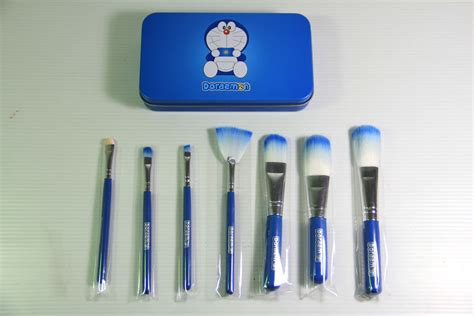 Make Up Brush Set Ebm Exmon toko kosmetik dan bodyshop 187 archive doraemon mini brush kit toko kosmetik dan