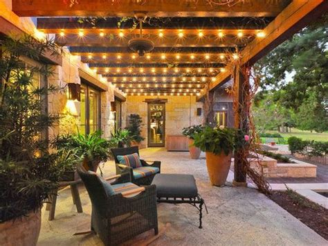 patio cover lighting ideas outdoor decor
