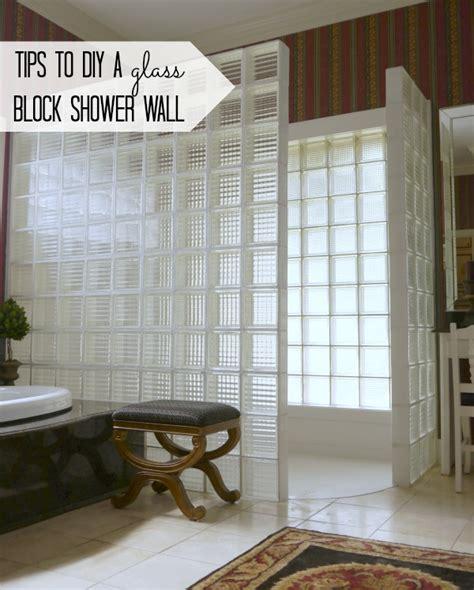 glass block wall bathroom mom inspiration 5 glass block shower wall glass blocks