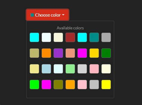 jquery animate color animated color palette plugin for jquery color swatches