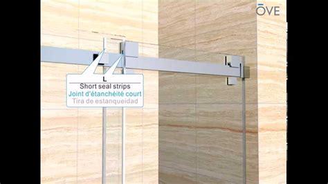 ove shower door ove shower alcove installation