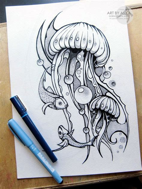 sketch tattoos best 25 jellyfish drawing ideas on jelly fish