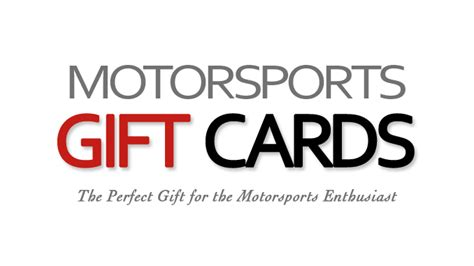 Gift Card Vendor - motorsports gift cards offering a new vendor opportunity