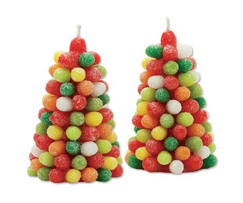 gumdrop tree candles the green head