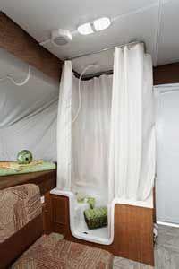 wohnmobil dusche pop up cer indoor shower pop up cer bathroom