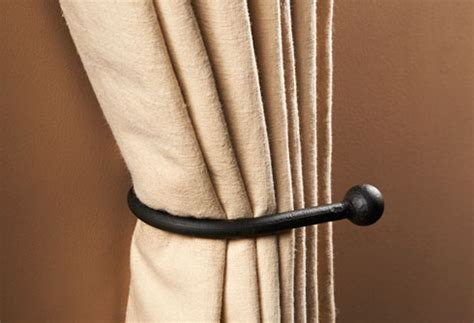 how to tie back curtains with hooks curtain holdbacks and tie back hooks