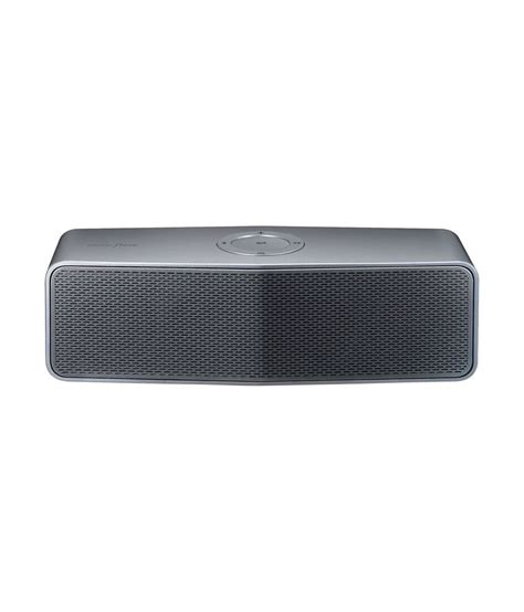 Speaker Bluetooth Lg buy lg np7550 portable bluetooth speaker silver