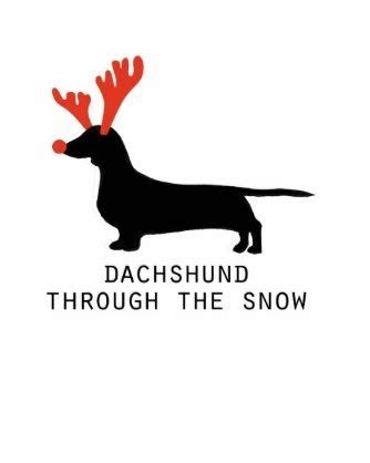 bantal dachshun thru the snow 17 best images about dachshunds on dangerous