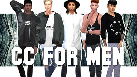 sims 4 male cc the sims 4 45 cc links for men skins hair fashion