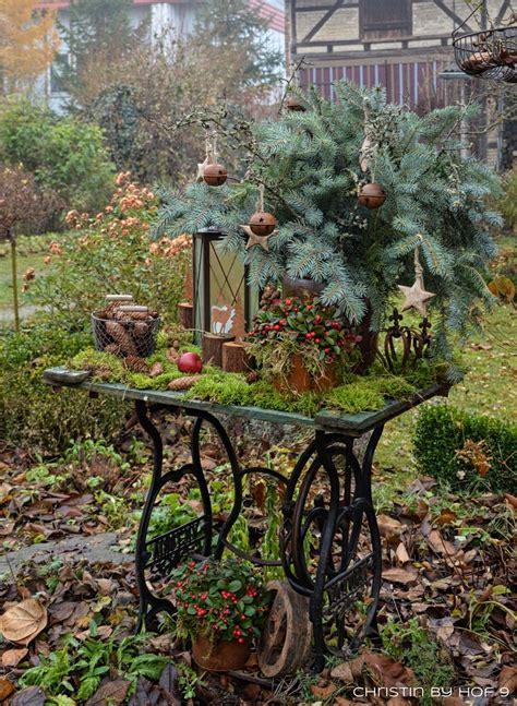 Garten Deko Weihnachten by Quaste Aus Kiefernadeln Nat 252 Rliche Gartendeko Im Winter