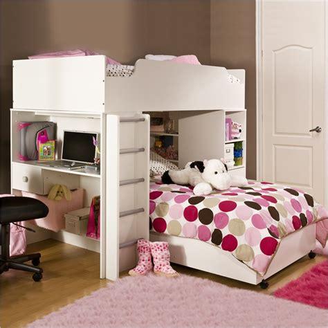 South Shore Bunk Bed South Shore Logik L Shape Wood Loft Bed In White 3360082 Pkg