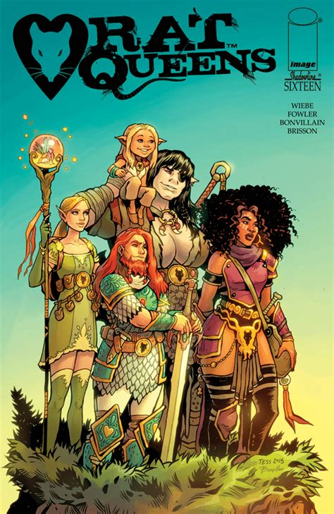 libro rat queens volume 3 rat queens 16 releases image comics