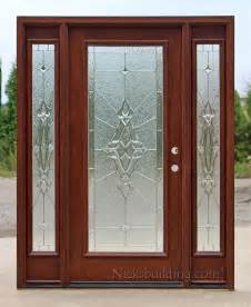 Exterior Entry Doors With Sidelights Exterior Doors With Sidelights Solid Mahogany Entry Doors