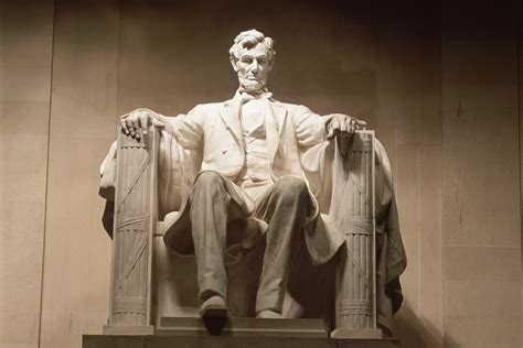 lincoln memorial statue of abraham lincoln union leaders