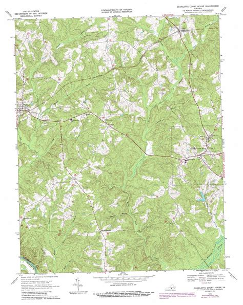 charlotte court house charlotte court house topographic map va usgs topo quad 37078a6