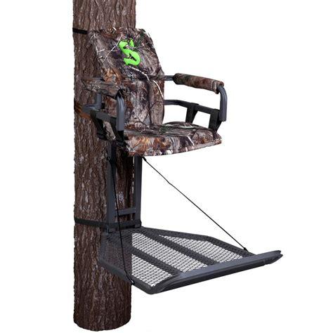 comfortable tree stands com summit treestands crush series peak hang on