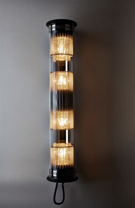 DCW In the Tube Wall Light Gold   Eames Lighting