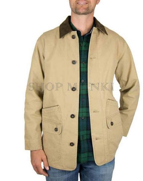 orvis new items mens clothing orvis lifestyle new from orvis men s corduroy collar cotton barn jacket large
