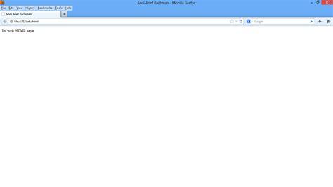 cara membuat web sederhana di notepad cara membuat web html sederhana menggunakan notepad