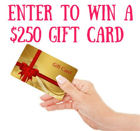 Gift Card Contest - doin good yes you are 250 gift card giveaway
