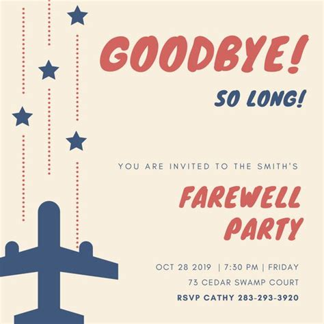 Farewell Gathering Invitation Eyerunforpob Org Gathering Invitation Template