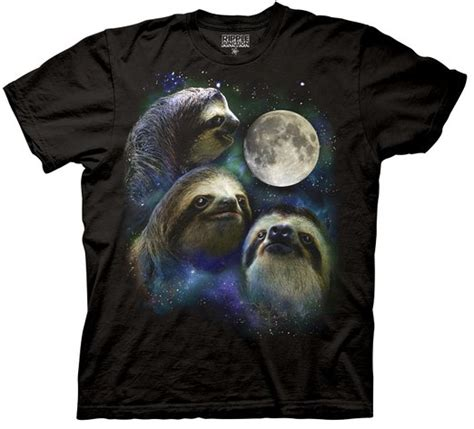 Wolf T Shirt Meme - 10 super cool sloth shirts you need to own all things sloth
