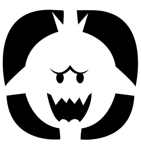 carving templates nintendo releases official pumpkin carving stencils