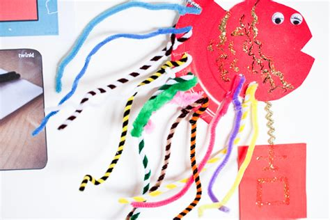 new year and craft fish lucky fish new year craft beautiful tribe