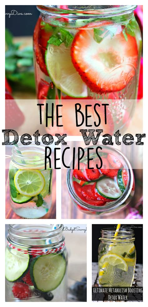 The Best Detox by The Best Detox Water Recipes Budget Savvy