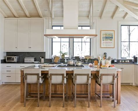 double kitchen islands transitional kitchen studio m stove top in island houzz