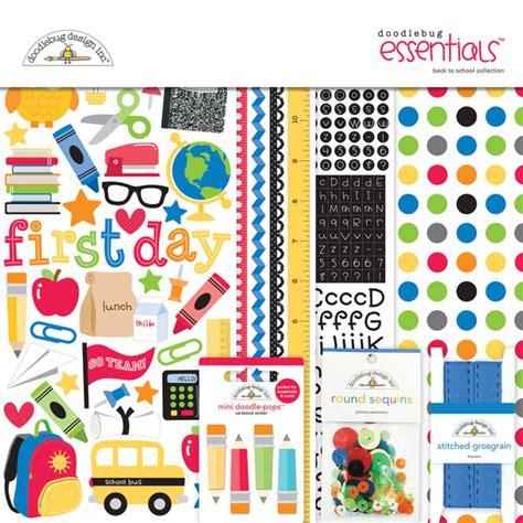 doodlebug kit doodlebug design back to school collection essentials kit