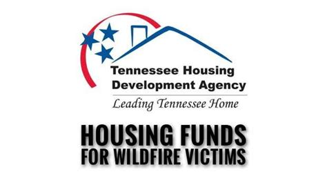 emergency housing assistance thda providing emergency housing assistance funds for wildfire victims