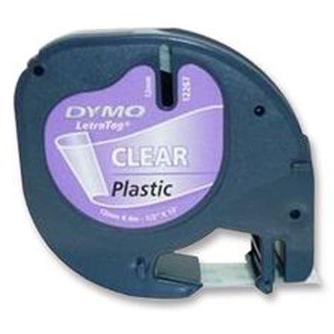 Label Letratag Dymo Plastic Clear Dymo Letratag dymo 12mm letratag label plastic clear 4m ebay
