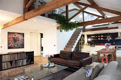 open floor plans with loft vaulted ceiling open floor open plan loft converted from an organ factory situated
