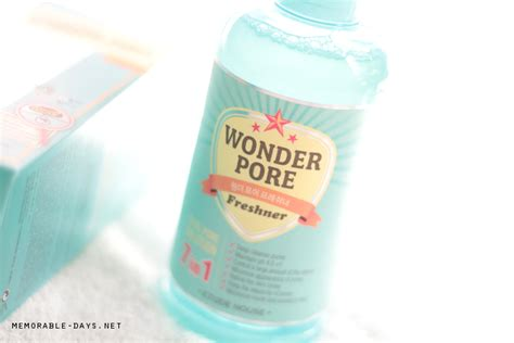 Etude Pore Freshner Sle 25ml review etude house pore freshner memorable days