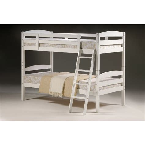 Cosmos White Wood Bunk Bed Bunk Bed White Wood