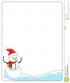 Snowman page borders snowman border frame