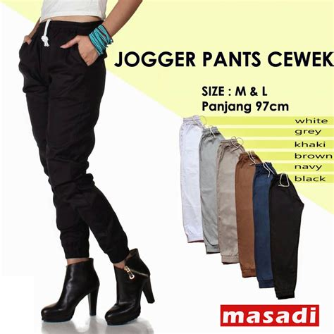 Celana Joger Celana Wanita jual celana jogger cewek joger cewek baru celana