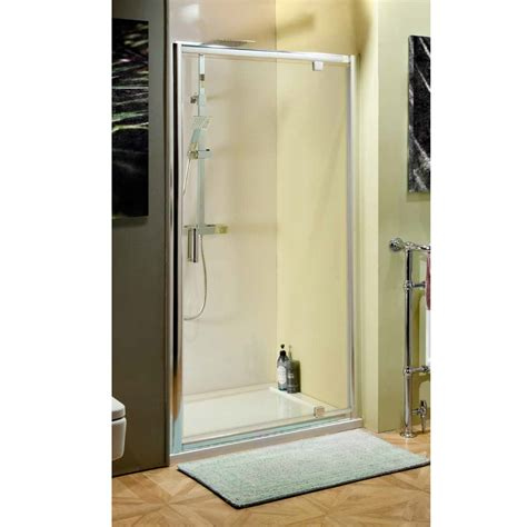Shower Door 700mm Cassellie 700mm Pivot Shower Door