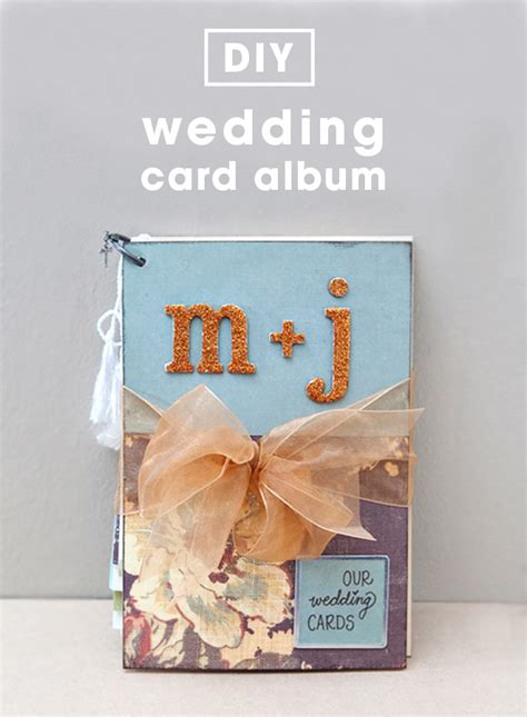 Wedding Card Diy by How To Diy An Adorable Album To Save Special Greeting Cards