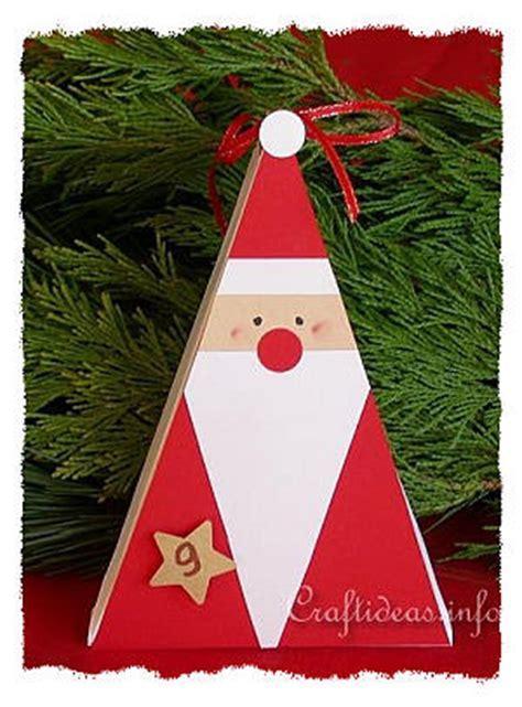 Free  Ee  Christmas Ee   Crafts Paper Crafts Santa Claus  Ee  Gift Ee   Box
