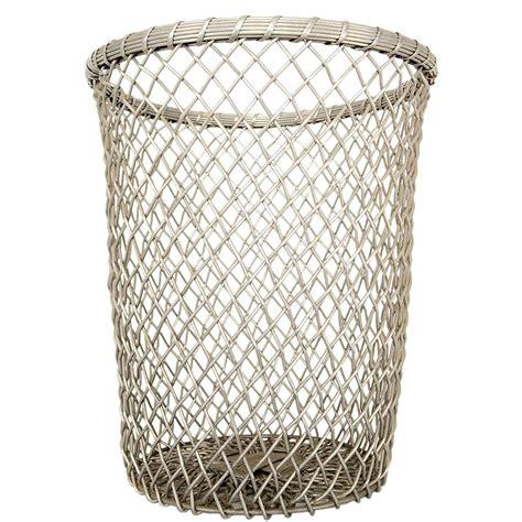 decorative wastebasket aluminum decorative waste basket for sale at 1stdibs